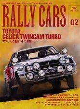 [BOOK] Rally Cars 02 Toyota Celica Twincam Turbo 4T-GTE RA61 A60 WRC Group B C