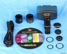 10 MP USB CMOS MICROSCOPE DIGITAL CAMERA EYEPIECE FOR WINDOWS & MAC OS10 SYSTEM