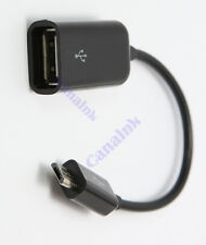 Universal Micro USB Male to USB Female OTG Host Cable Adapter for HTC Cell Phone