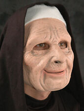 Nun Old Woman Sister The Town Movie Latex Funny Creepy Halloween Mask
