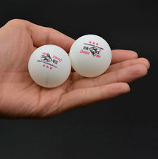 100Pcs DOUBLE FISH 3-Stars 40mm Olympic Table Tennis Balls White Ping Pong Ball