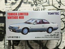 TOMICA LV-N118c NISSAN LEOPARD 2.0 XS-II NEW IN BOX LIMITED VINTAGE NEO