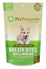 Pet Naturals of Vermont Breath Bites for Dogs 60 Chews 3.17oz