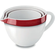 KBLR03NBER KitchenAid Set di Ciotole Professionali Ceramica da Forno impilabili
