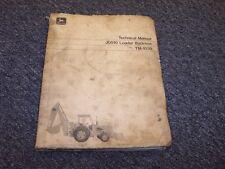 John Deere 510 Loader Backhoe Shop Service Technical Repair Manual TM1039