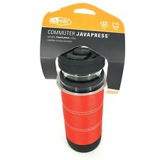 GSI Outdoors Commuter Javapress French Press Travel Coffee Mug RED NEW