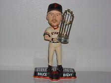 Bruce Bochy San Francisco Giants Bobble Head 2014 Ws Champs Trophy Mlb New