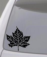MAPLE LEAF Vinyl Decal Sticker Car Window Wall Bumper Tree Canada Syrup 6x6 Inch