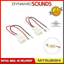 CT55-MT01 Car Speaker Adapter Harness Connectors for Mitsubishi