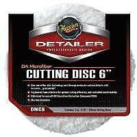 "Meguiars DA Microfiber Cutting Pad 6"" (2pcs) DMC6"