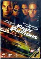 FAST AND FURIOUS Vin Diesel Paul Walker Michelle Rodriguez DVD FILM Sealed Edit.