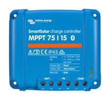 Contrôleur de charge solaire Victron Energy SmartSolar MPPT 75/15.