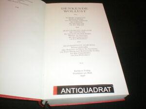 Die Andere Bibliothek Enzensberger Robert Darnton Denkende Wollust 1996