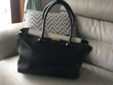 Modula Ladies black Leather Handbag