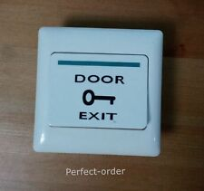 New 12V DC Door Exit Button Door Exit Push Button for Door Access Control System