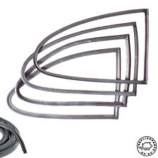 Porsche 356 Coupe All Quarter Window Complete Seals Kit for Glass - Frame - Body