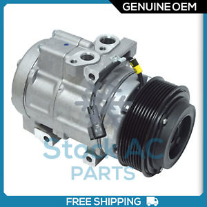 New OEM A/C Compressor for Ford F-250, F-350, F-450, F-550 6.7 Diesel