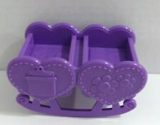 Doc McStuffins Doll House Purple Twins Nursery Crib Cradle