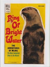 Ring of Bright Water #nn 01-701-910 Movie Classic Photo Cover Dell Comics 1969