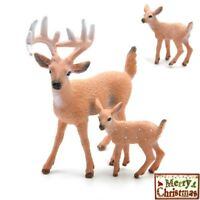 Christmas Reindeer Doll Party Gift Deer Ornament Decoration Home Shop Window
