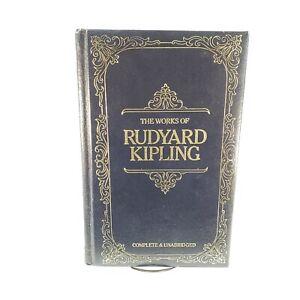 The Works of Rudyard Kipling (Longmeadow Press, 1984) Bonded Leather Unabridged