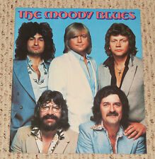 Moody Blues 1978 - 1979 concert program Octave tour book
