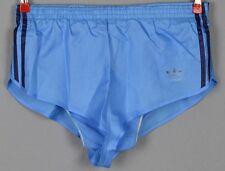 ADIDAS Glanz Nylon Shorts!!!  Vintage Short Sporthose blau-Gr.:M-4  (1247)