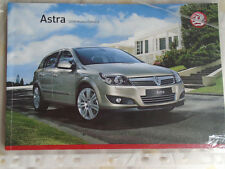 Vauxhall Astra range brochure 2008 models Ed 2