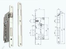 Serratura per portoncino profilo cilindro europeo - Entrata 50 - bordo tondo