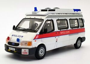 Collector's Model 1/43 Scale CM-FT5101a - Middle Roof Ford Transit HK Police