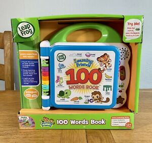 LeapFrog Learning Friends 100 Words Book Sound Touch Bilingual English French
