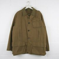 Vintage POLO RALPH LAUREN Beige Reversible Hunting Jacket Mens Size Large