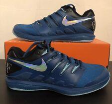 """Nike Zoom Vapor RF Arcilla X Air UK7.5 (AA8021 300) EU42 US8.5 """"Roger Federer"""" Nuevo"""