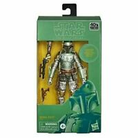 Star Wars The Black Series Carbonized Boba Fett Action Figure 6-Inch Metallic