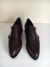 "*NEW* Opening Ceremony ""Eleanora"" Sz 38 Merlot Platform Oxford 38 Women Monk 8"