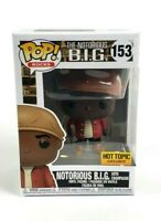 Funko Pop The Notorious B.I.G. With Champagne Hot Topic Exclusive With Protector