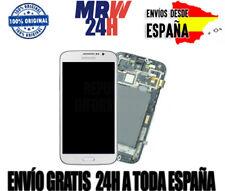 ▷ Pantalla Samsung Galaxy Mega 6.3  I9200 I9105 (con marco) Color Blanco NUEVA ✔