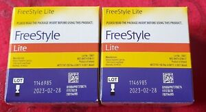FreeStyle Lite Glucose Blood Test Strips - 200 count (2x100)