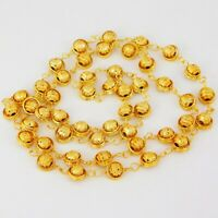Indian Jewelry 22k Gold Plated Bollywood Necklace Mala Bridal New Set  CH01-05