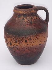 CARSTENS Atelier C 1003-15 Vase G. Heuckeroth Kiel Fat Lava West German Pottery