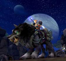 World of Warcraft WoW Rare Mount Loot Card - Garn Nighthowl US Servers