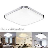 LED  Plafonnier Lampe lumière carrée encastrée maison Living Roo cuisine