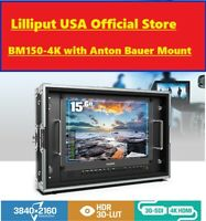 LILLIPUT BM150-4KS Carry-on/Rackable 4K Broadcast Monitor HDR, 3D-LUT + Anton Ba