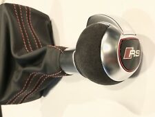 New OEM Audi A3 S3 RS3 8V Suede RS Sport Gear Knob Gearstick 8V1713139AH