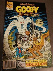 Walt Disney's Goofy Adventures Comic #16 Sept 1991 Sheerluck Goof