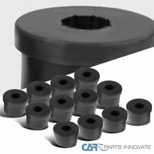 For 79-04 Ford Mustang Black Spec-D Rear Control Arms Polyurethane Bushings 12PC