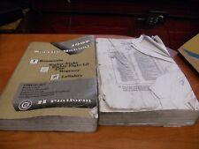 1997 GM Pontiac Buick LeSabre OEM Service Shop Manual 2-Volume Set JUL5264