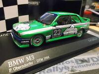 BMW M3 E30 DTM 1988 Hockenheim Winner Alpina #23 Oberndorfer mic Minichamps 1:43