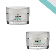 Klapp Clean & Active Cream Peeling 2x 50 ml + Blitzversand