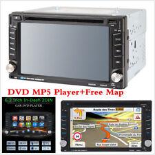 "6.2"" HD 2 DIN Dash Car CD/DVD Player Radio Stereo Bluetooth MP3 + GPS Navigation"